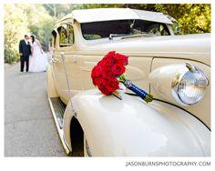 Vintage Car, Wedding Pictures With Vintage Car, Nature Wedding, Rustic Wedding, Oak Canyon Nature Center Wedding, Orange County Wedding Photography,Orange County Wedding Photographer, Jason Burns Photography