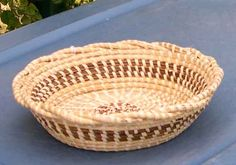 Sweetgrass candy basket