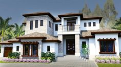 Two Master Bedrooms - 31839DN | Architectural Designs - House Plans