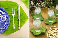 10 Things To Do With Hosta Leaves Under The Table and Dreaming