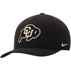 1a51050edd4 Men s Nike Black Colorado Buffaloes Wool Classic Performance Adjustable Hat