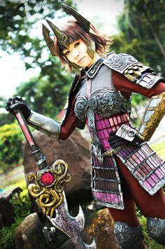 Ginchiyo Tachibana - Samurai Warriors