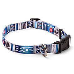 ThinkGeek :: Star Wars R2-D2 Dog Collar   I want this for Oden!