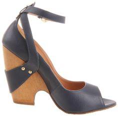 Amazon.com: Madison Harding Women's Margo Peep-Toe Pump: Shoes