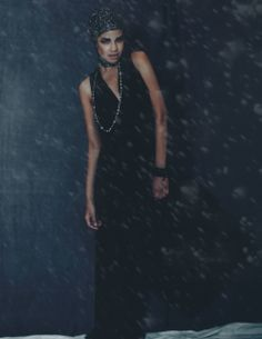 """Let it Snow, Let it Snow, Let it Snow"" TURN Magazine Holiday issue styled & shot by Melissa Alicia (www.melissalicia.com) | Model Luisanna Calderon (@Luisanna Calderon-Model) | HMUA Geancarla Sprella Asmad | Jumper, Scarf, and Jewelry from Denimianco Boutique (@Denimianco Boutique)"