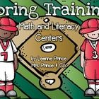 These baseball themed centers are perfect for your classroom this spring! Included are 5 math centers and 5 literacy centers in color  as well as b...