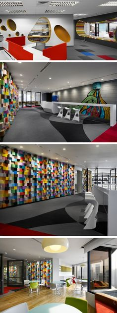 M Moser Associates designed the first corporate office in Asia for Sherwin-Williams, located in Kuala Lumpur, Malaysia.
