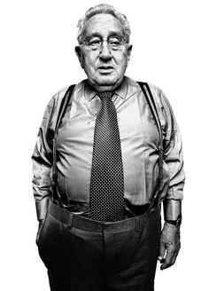 Henry Kissinger - by Platon