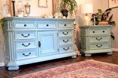 Oversized dresser or buffet   68x20x32  $475
