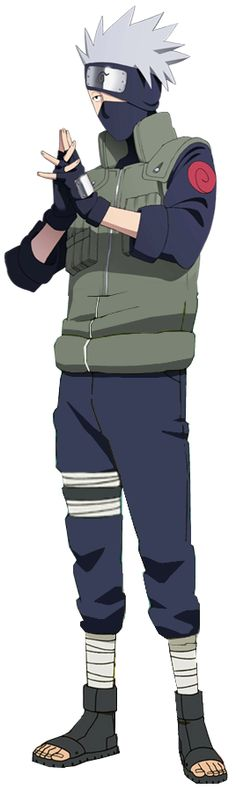 Kakashi Hatake by elninja75 on deviantART