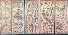 3 punch cards for Brother Knitting Machines SingerSilver