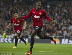 Danny Welbeck scored the opening goal of the game from a Wayne Rooney corner