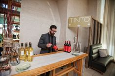 Cira Centre Bridal Show 2014 | Garces Catering | Tinto Wine Tasting Station | Jordan Brian Photography