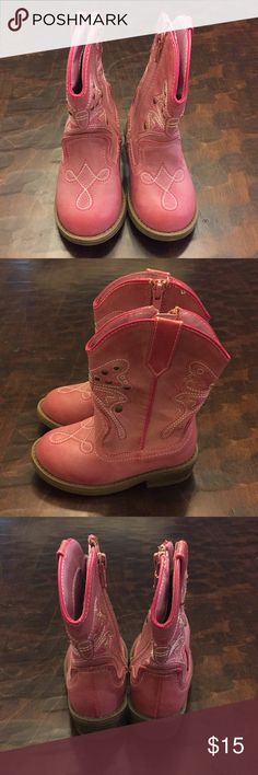 Toddler Cowboy Boots Pink Butterfly Cowboy Boots Shoes Boots
