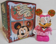 Mickey's Christmas Carol Daisy Duck as Isabelle Disney Vinylmation 3'' Figure Cute