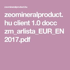 zeomineralproduct.hu client 1.0 docc zm_arlista_EUR_EN2017.pdf