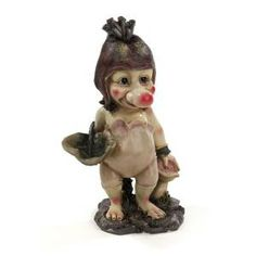Ollie The Garden Troll Statue DISCONTINUED