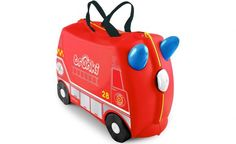 Fire Engine Frank Ride on Suitcase by Trunki