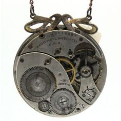 Steampunk One of A Kind Elgin Natl. Watch Movement #18612882 by The Victorian Magpie