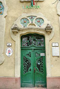 Art Nouveau Tulip School, Győr | Flickr - Photo Sharing!
