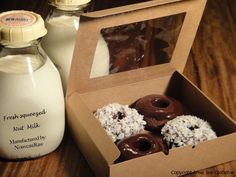 Raw Chocolate Doughnuts and Nut Milk copy-- I want to try this!!!  Need Irish Moss?