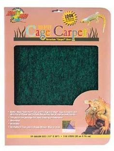 Zoo Med Repti Cage Carpet *** Click image to review more details. (This is an affiliate link and I receive a commission for the sales) #Pets