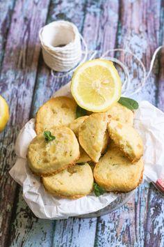 Biscottini al limone con menta