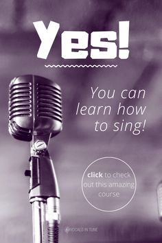 Yes, you can definitely learn how to sing! Are you a beginner learning to sing or are you already a singer but who wants further improve your voice? Click the link to check out this amazing course by Singorama. Vocal Lessons, Singing Lessons, Singing Tips, Music Lessons, Singing Course, Learn Singing, Guitar Chords For Songs, Vocal Exercises, Teaching Channel