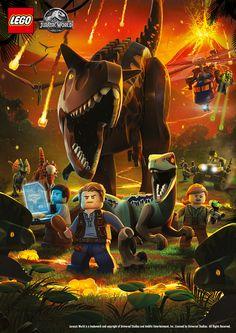 lego jurassic world Jurassic World Poster, Lego Jurassic Park, Lego Jurassic World Dinosaurs, Jurassic World Wallpaper, Jurassic World Set, Jurassic Park Party, Jurassic World Fallen Kingdom, Lego Wallpaper, Falling Kingdoms