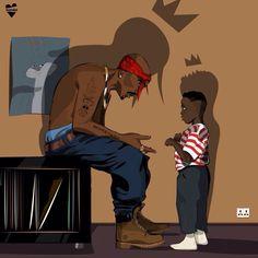 King Tupac & King Kendrick