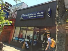 Goodwill store located right near Harvard