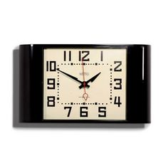 Black Metro Wall Clock  Newgate Clock www.theroyalgallery.co.uk/index.php?location=item&item=368&art=Clocks&source=2