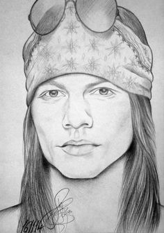 Axl Rose by EvelinLang