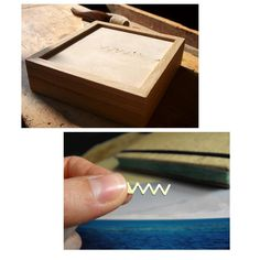 VVVV recycled goldplated silver logo with an oak box #vuuvworks #wood #handmade Silver Logo, Recycling, Box, Handmade, Snare Drum, Hand Made, Upcycle, Handarbeit