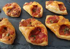 Pizzás harapnivalók Taco Pizza, Bruschetta, Sandwiches, Tacos, Keto, Breakfast, Fast Foods, Ethnic Recipes, Pizza