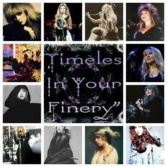 Stevie Nicks Collage Created By Tisha 01/01/15