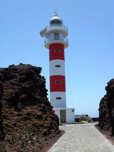 """Light house at Punta de Teno showing volcanic rock, Tenerife, Canary islands - All Original Photography by http://vwcampervan-aldridge.tumblr.com """
