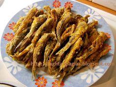 Γαύρος τηγανητός Greek Recipes, Holiday Recipes, Seafood, Bacon, Oven, Stuffed Peppers, Fish, Vegetables, Cooking