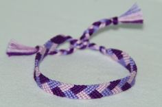 Purple Basket Weave!  Want to buy this? Check out: http://www.etsy.com/shop/CreationsbyJulie7?ref=search_shop_redirect