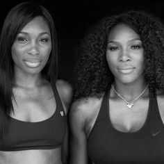 7/6/15 Via #SerenaWilliams: There's nothing I would not do for this brave inspirational woman #VenusWilliams how fortunate I am to have u as my sister. ❤️ #sisters