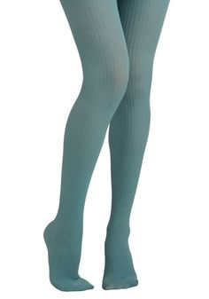 Light teal dreamy tights. I'm thinkin' with a burnt orange skirt and some boots :)