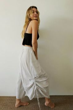 Out From Under Aliya Oversized Cinched Lounge Pant Balloon Pants, Midi Shirt Dress, Dress Cuts, Celebrity Feet, Lounge Pants, Urban Outfitters, Fitness Models, Pants For Women, Boho
