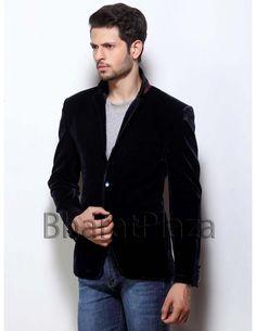 Rocking Black Blazer Item code : TSBL1102  http://www.bharatplaza.com/mens-wear/mens-designer-suits/mens-blazer/rocking-black-blazer-tsbl1102.html