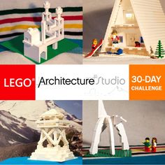 """As I mentioned earlier, I recently purchased the excellent Architecture Studio set, a big box containing over 1200 Lego bricks and the 272 page """"Create your own Architecture"""" book which aims to inspire rather than provide any specific building directions. Presenting the Lego Architecture..."""