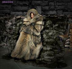 SuperGoddess — cinegif: Jean Louis of Hollywood, swan-down coat. Fur Collar Coat, Fur Collars, 1980s Fashion Trends, Winter Bedding, Fur Bedding, Fantasy Model, Fur Clothing, Fur Blanket, Fox Fur Coat
