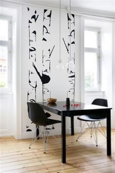 Birch by STICKERS DELUXE Who does not dream of looking at the beautiful birch trunks in the middle of the room Old Town Apartments, Birch, My House, Elegant, Interior, Room, Trunks, Middle, Stickers