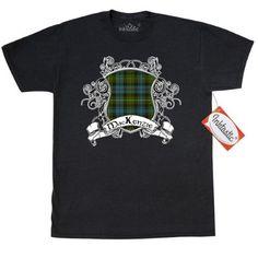 Inktastic MacKenzie Tartan Shield Women/'s T-Shirt Clan Plaid Clothing Apparel
