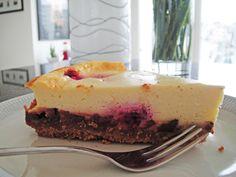 Schokoladen-Himbeer-Cheesecake