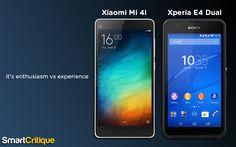 Xperia E4 Dual vs Xiaomi Mi4i: Enthusiasm sure beats experience