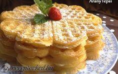 Egyszerű gofri recept fotóval Winter Food, Waffles, Sandwiches, Deserts, Muffin, Food And Drink, Sweets, Baking, Breakfast